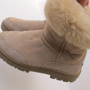 Ugg Australia Boots Size 6 Sturdy Boot Sole